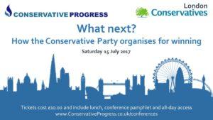 Conservative Progress - What Next?