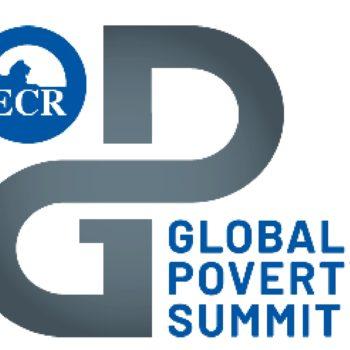 ECR global poverty summit logo