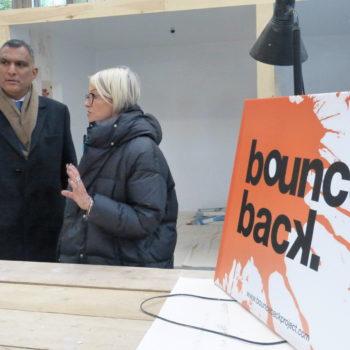 Syed in Brixton Prison talking Bounceback